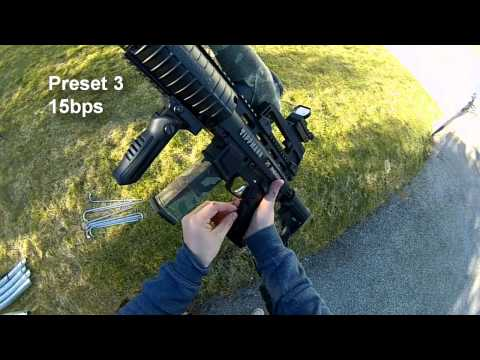 Tippmann X7 Phenom - E-Grip Firmware Upgrade - No safe Shot - Full Auto