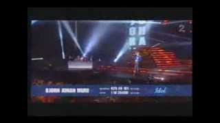 Bjørn Johan Muri - In My Place (Coldplay) Idol Norway 2007 - Finale
