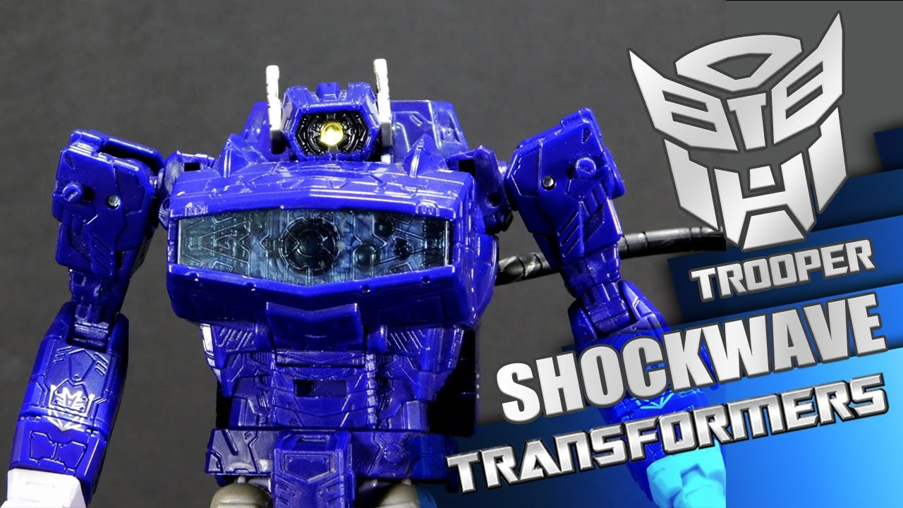 Shockwave Transformers War for Cybertron Siege - Trooper Reviews