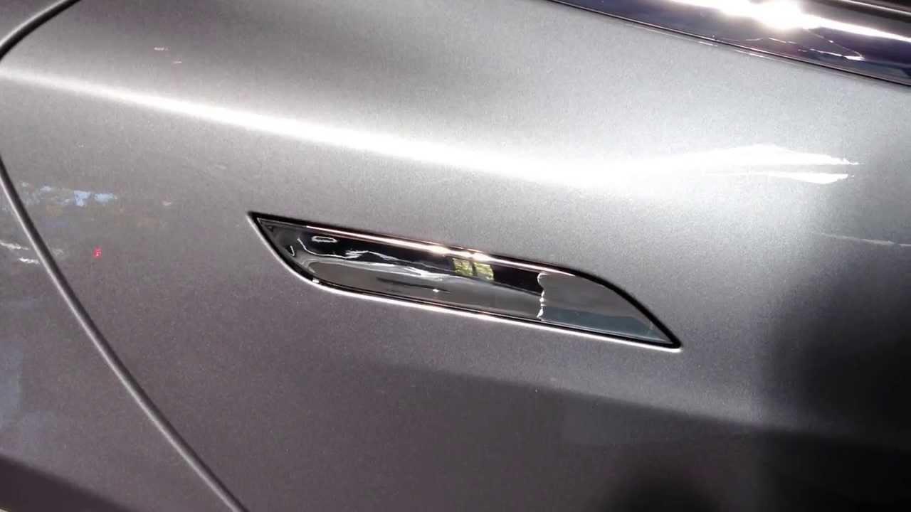 Tesla Model S Door Handle - YouTube