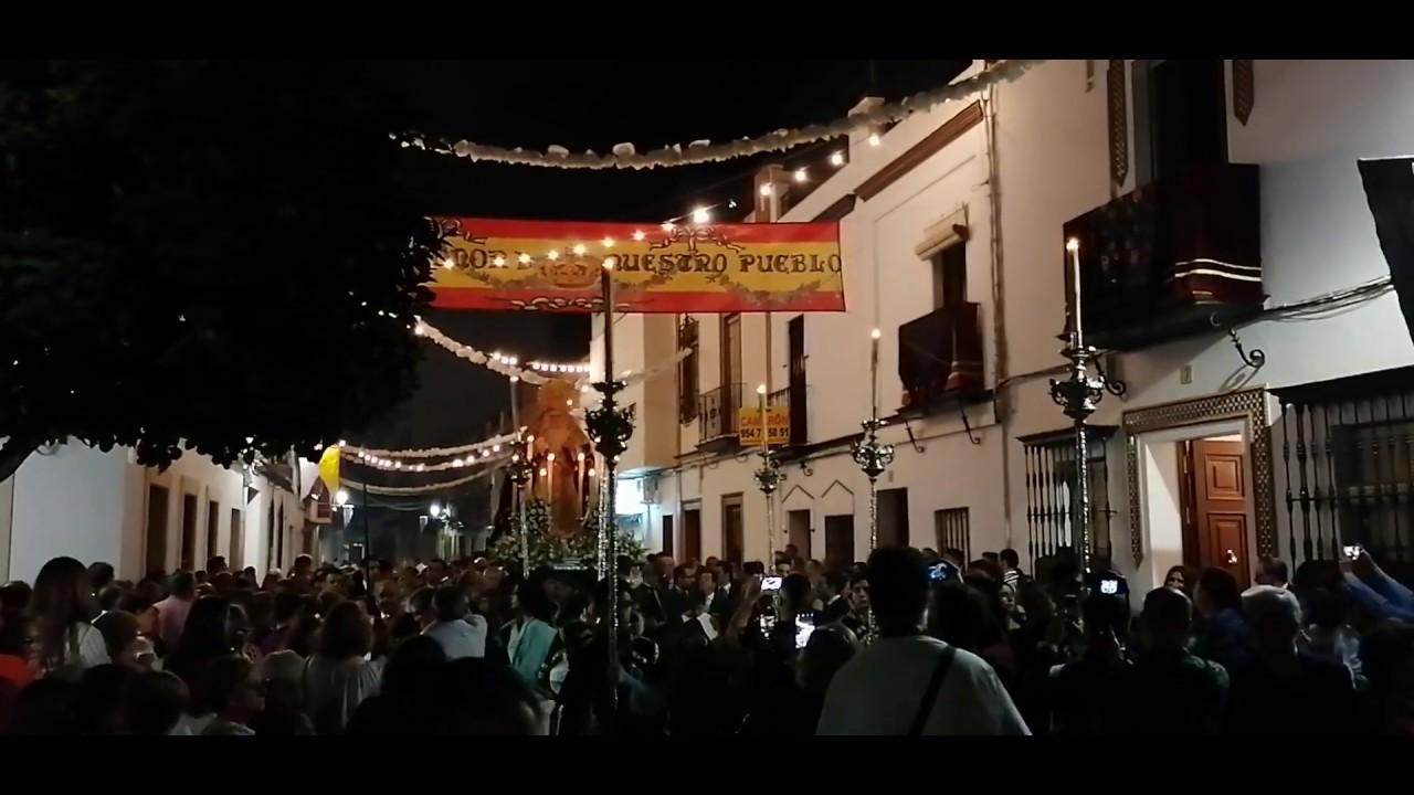 Traslado Virgen de la Soledad Coria del Río 2019 (parte 6