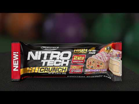 MuscleTech: NITRO-TECH Crunch Bar