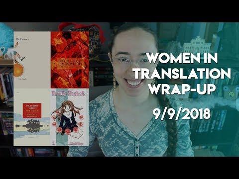 Women In Translation Readathon Wrap-Up | #WITreadathon