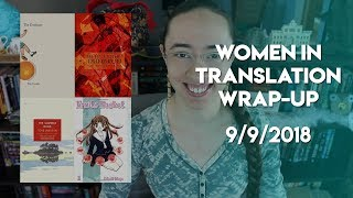 Women in Translation Readathon Wrap-Up | #WITreadathon
