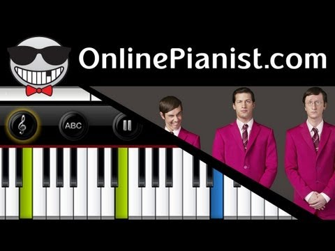The Lonely Island ft. Akon - I Just Had Sex - Piano Tutorial