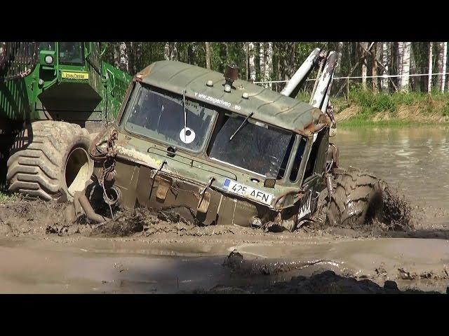 Off-Road Trucks race, Water ORO