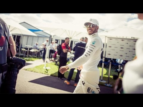 Behind-the-Scenes F1 Hospitality Tour with Lewis Hamilton