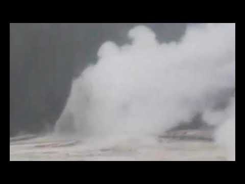 "Yellowstone: New Geyser Eruption Hurls ""Debris & Rocks"" Into The Sky"