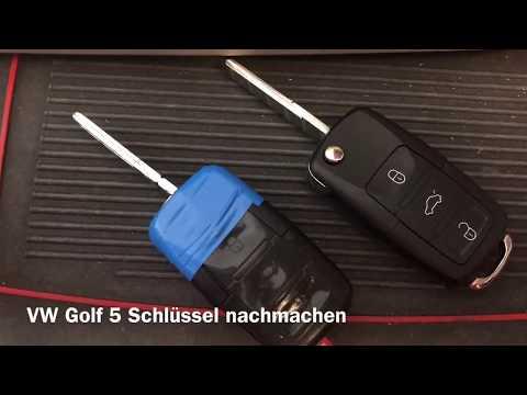 vw-golf-5-schlüssel-mit-fernbedienung-nachmachen