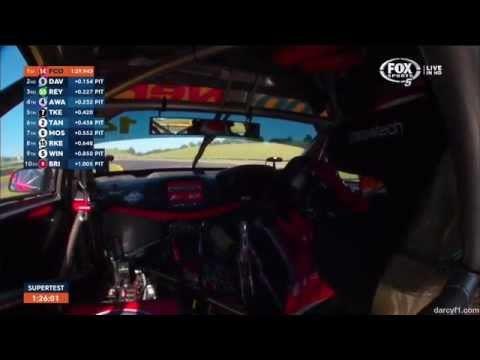 Onboard Lap around Sydney Motorsport Park (feat. Fabian Coulthard) - #V8SC 2015