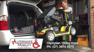 Olympian 150kg Hoist for Mobility Scooters