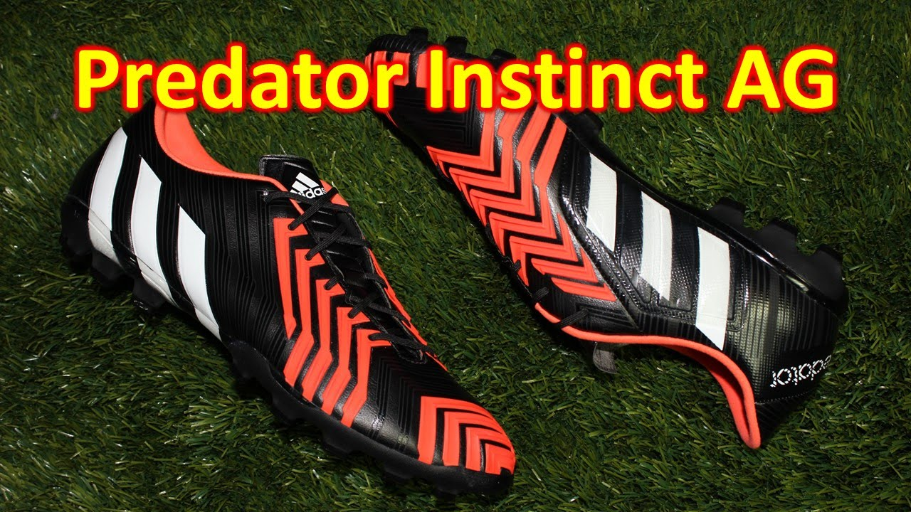 Sonrisa Pacer Explosivos  Adidas Predator Instinct AG Black/White/Solar Red - Review + On Feet -  YouTube