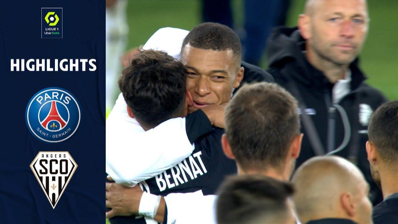 Download PARIS SAINT-GERMAIN - ANGERS SCO (2 - 1) - Highlights - (PSG - SCO) / 2021-2022