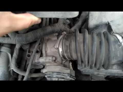 Форд Фокус 2, чистка дросселя, замена воздушного фильтра Ford Focus 2, throttle cleaning