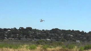 RC Helicopters at Mare Island, Vallejo California