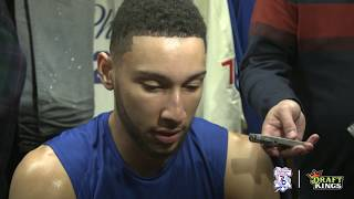 Ben Simmons | Postgame vs Heat (4.16.18)