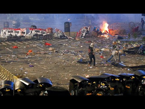 شاهد: تصاعد الاحتجاجات في جاكرتا والرئيس يتوعد المتسببين بزعزعة الأمن…  - نشر قبل 7 ساعة