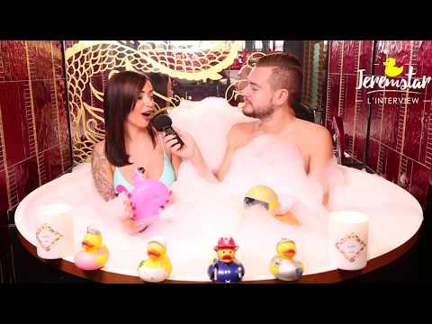 Jelena (Les Marseillais VS le Reste du Monde 2) dans le bain de Jeremstar - INTERVIEW