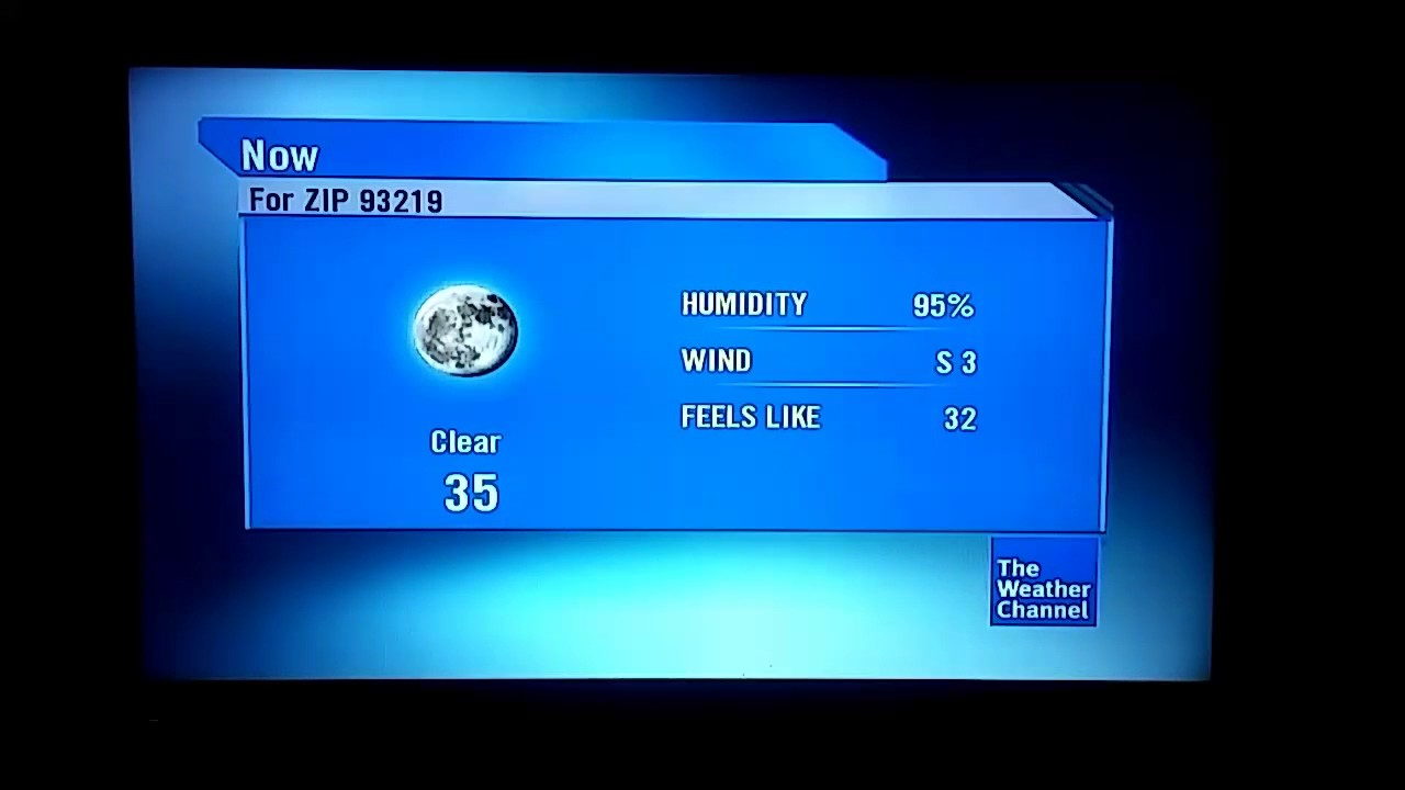 DIRECTV The Weather Channel Local on the 8s for Earlimart, CA ...