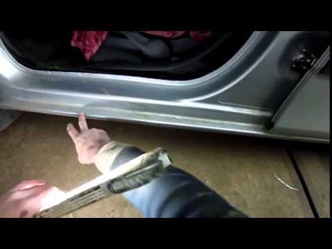 Открыть ключом Skoda Octavia A7 - YouTube