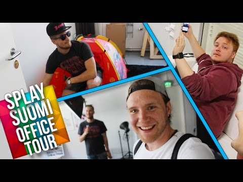Splay Suomi Office Tour! | Dave Cad