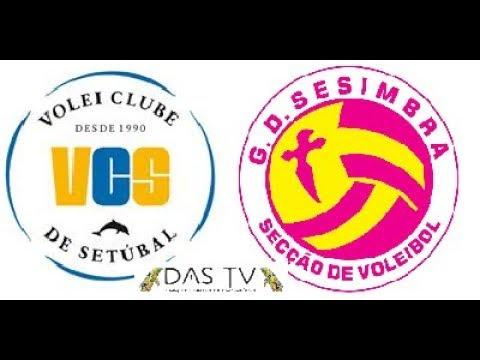 Voleibol Feminino - VSC vs. GDS  - Época 2017/2018