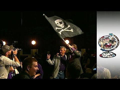 The Swedish Pirate Party is Fighting Against Copyright Laws