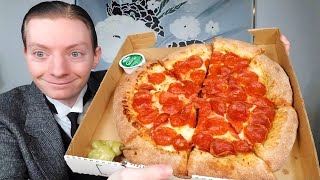 Papa John's NEW Epic Stuffed Crust Pizza Review!