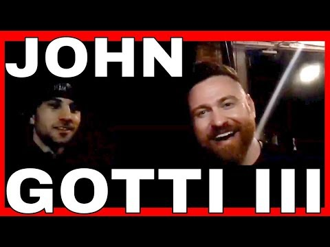 🔴JOHN GOTTI III 2ND PRO FIGHT POST FIGHT INTERVIEW @ CES NY