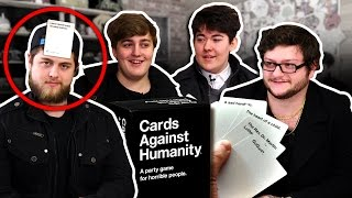 """WHO AM I?"" CARDS AGAINST HUMANITY! w/ Adam, Preston, Brad and Chubbs!"