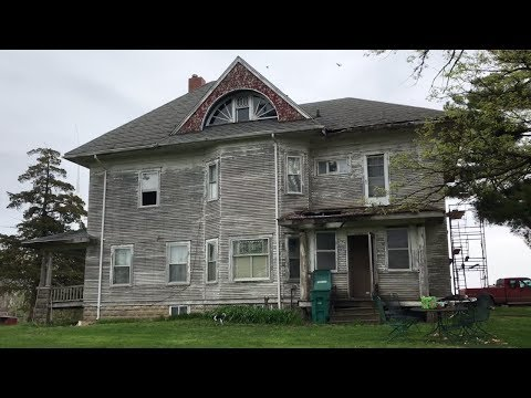 OLD FARM MANSION 1ST REPAIRS IN 102 YEARS!?!