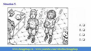 Compréhension orale Niveau 1 partie 2, (TCF, DELF , DALF Test et Examen)