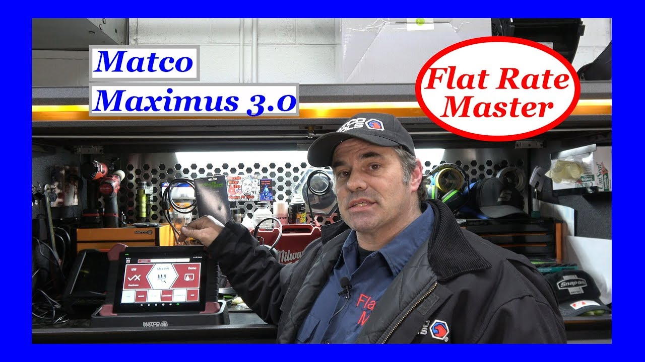 Matco Maximus 3 0 Scan Tool Review