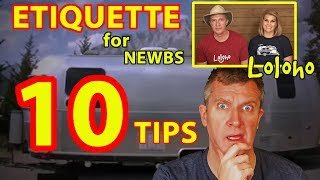 HOW TO NOT BE A RUDE & INCONSIDERATE JERK  - 10 Tips! (RV Campground Etiquette)