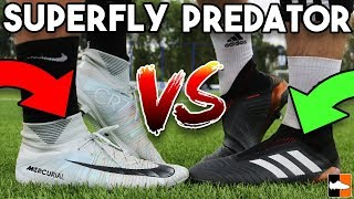 Which football boot is better between Nike Mercurial Superfly V and...