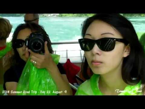 Summer Road Trip 2014 - day 21 & 22  Hamilton & Niagara Falls
