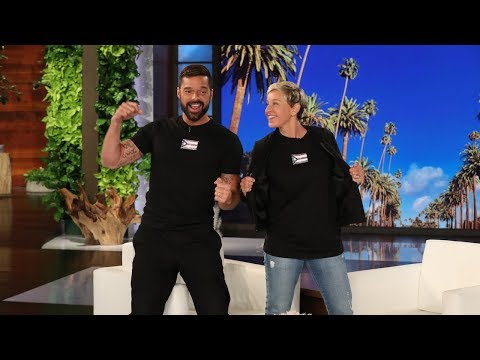 Ricky Martin Makes A Surprise Visit 'For Good'