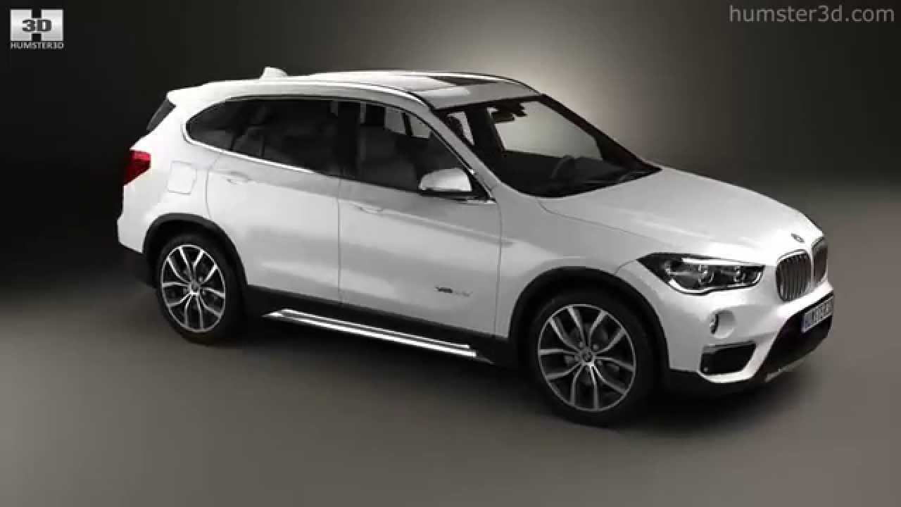 bmw x1 f48 2015 by 3d model store youtube. Black Bedroom Furniture Sets. Home Design Ideas