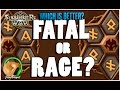 watch he video of SUMMONERS WAR : Fatal Runes VS Rage Runes - Which is Better?