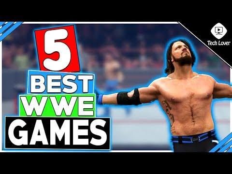 5 Best WWE Games For Android/IOS Phones(2018) || HINDI