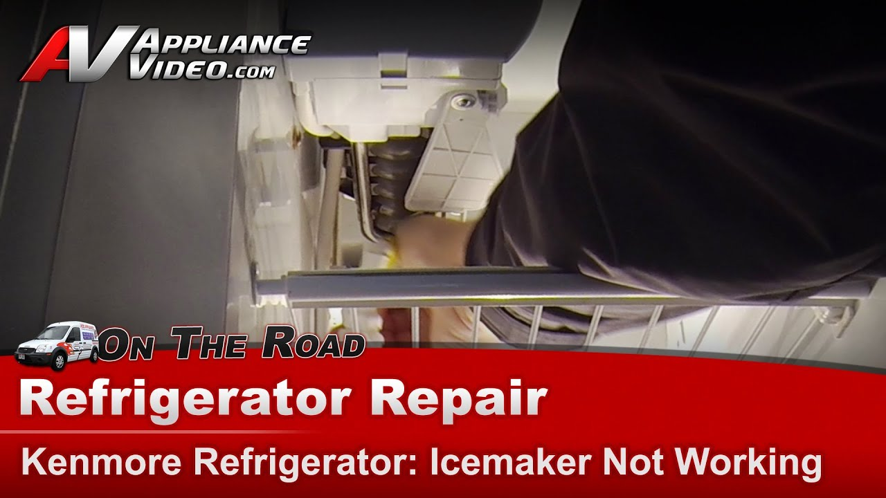 Kenmore Refrigerator Repair >> Refrigerator Diagnostic & Repair - Icemaker Not Working - Kenmore, Whirlpool, Sears - 363 ...