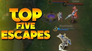 Mobile Legends TOP 5 ESCAPES