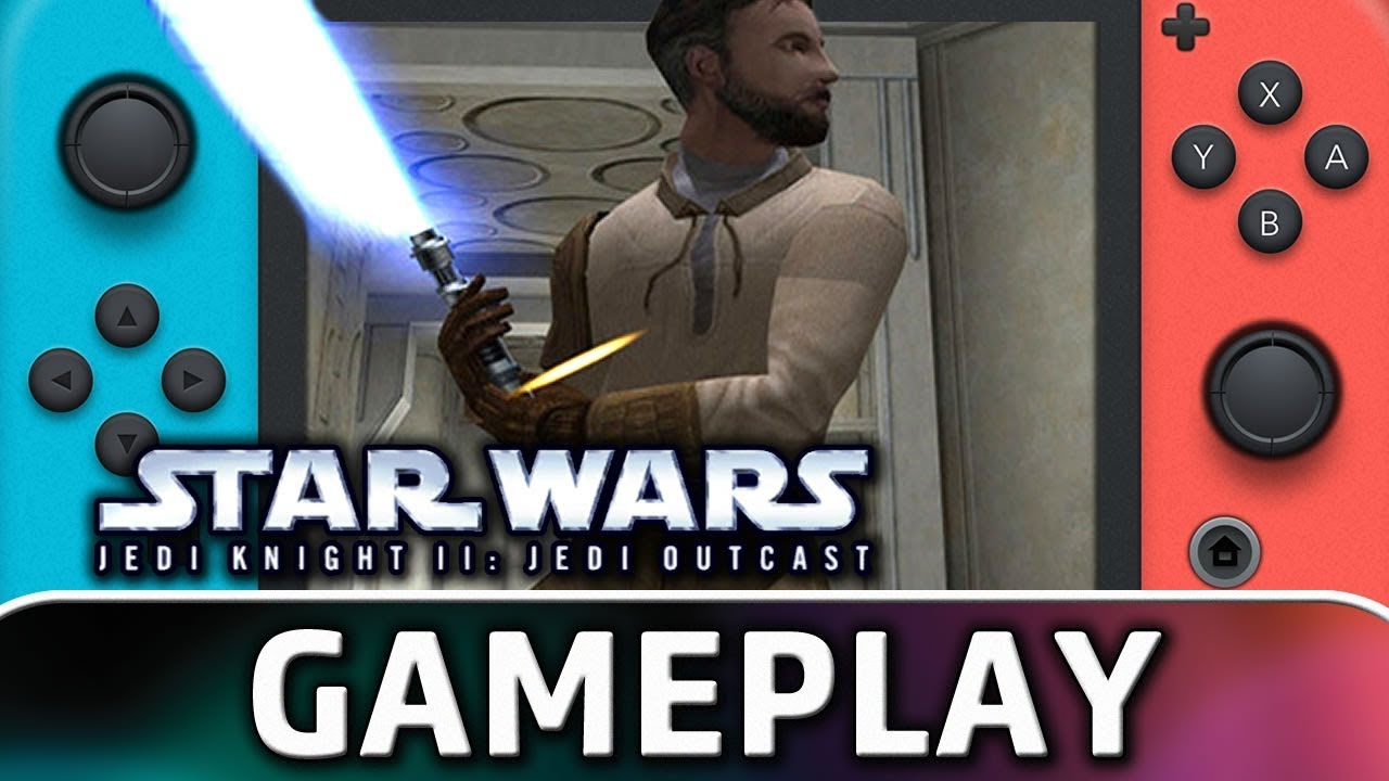 STAR WARS: Jedi Knight II: Jedi Outcast | First 10 Minutes on Nintendo Switch
