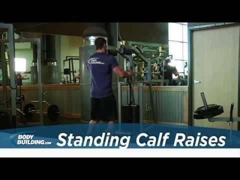 Standing Calf Raises - Calves Exercise - Bodybuilding.com