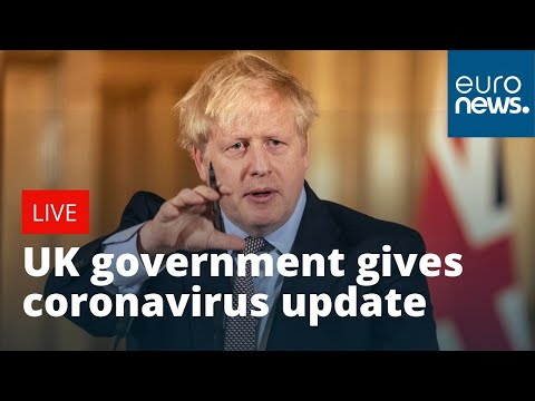 #CORONAVIRUS: UK government gives update on COVID-19 developments | LIVE