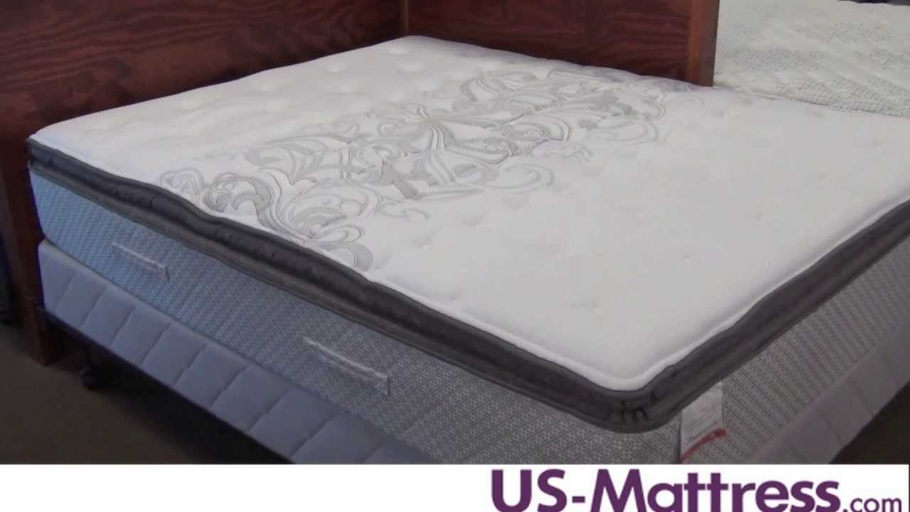 Sealy Posturepedic Cooper Mountain Ii Plush Euro Pillow Top Mattress You