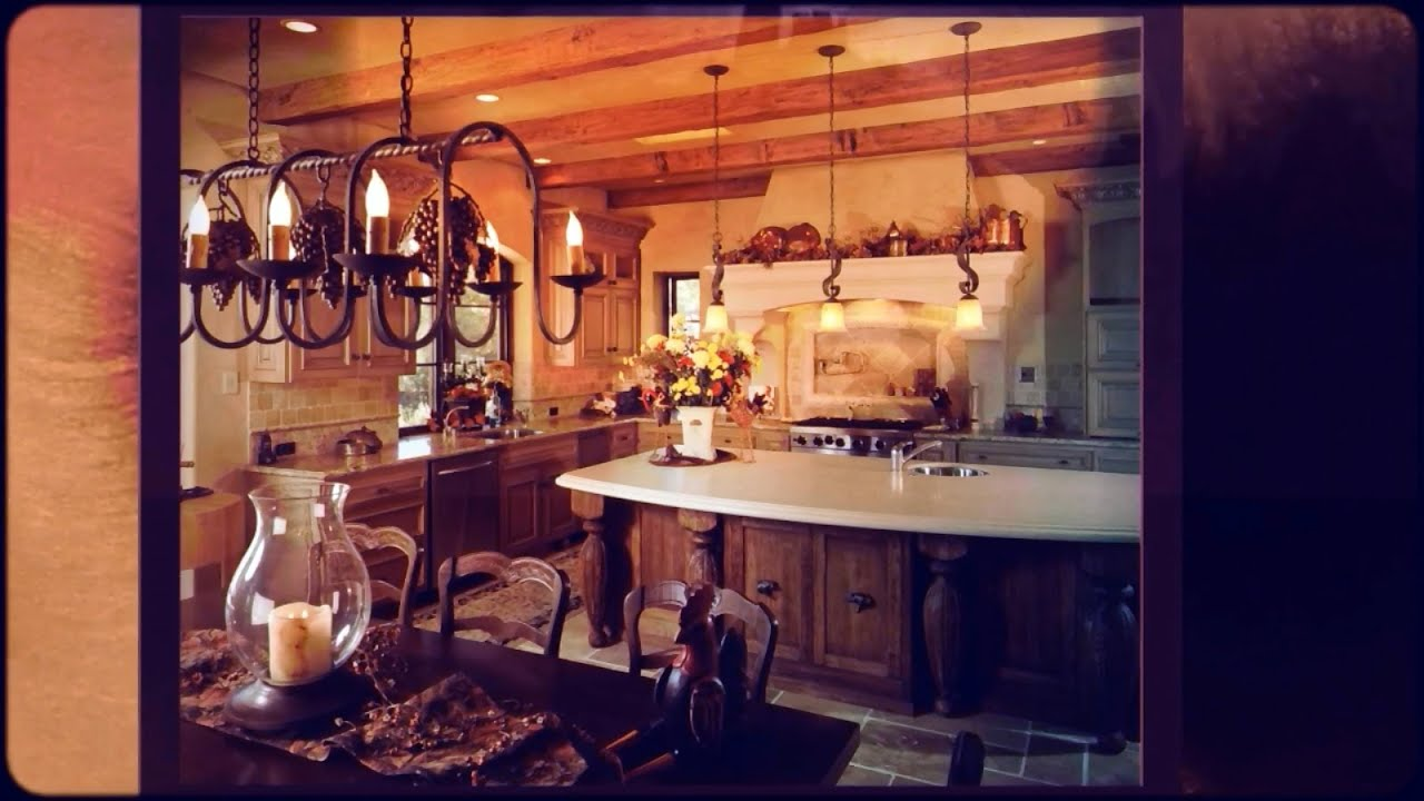 French Country Kitchens   YouTube