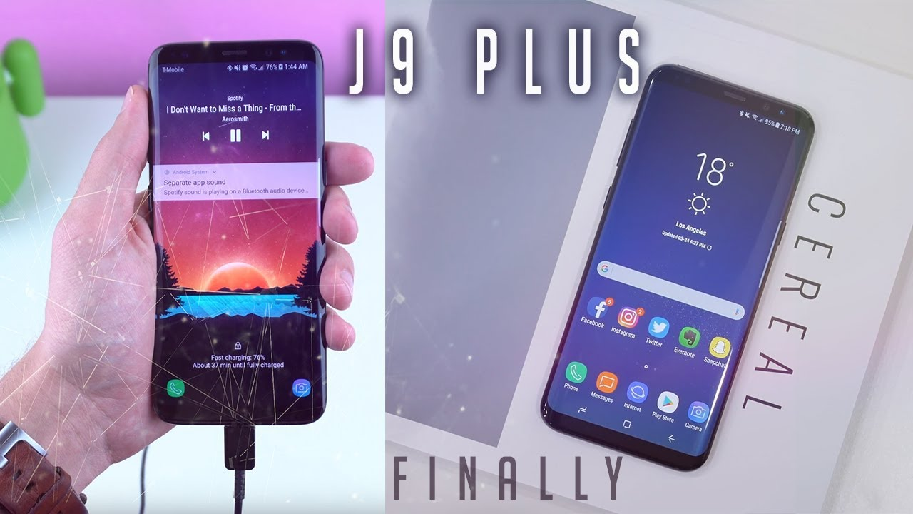 GALAXY J9 and J9 PLUS .. New Era Begins Here. Yes SAMSUNG We Wanted This😍