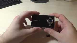 Обзор видео регистратора K6000 / Video review car DVR K6000(, 2013-09-27T18:51:32.000Z)
