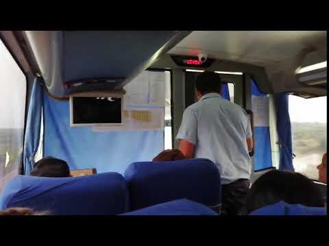 Chofer y guarda de micro dieron agua a los pasajeros